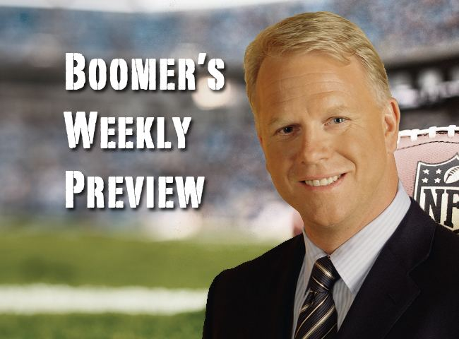 Boomer's Weekly Preview
