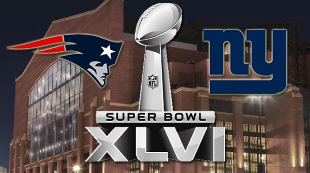 Super Bowl XLVI - Patriots-Giants