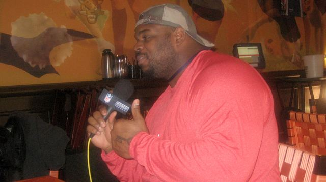 Vince Wilfork Interview