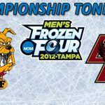 Frozen Four Championship Tonight