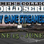 2012 College World Series Streamed Live