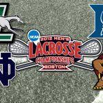 2012 Lacrosse Semifinals