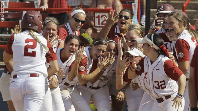 NCAA California Alabama Softball