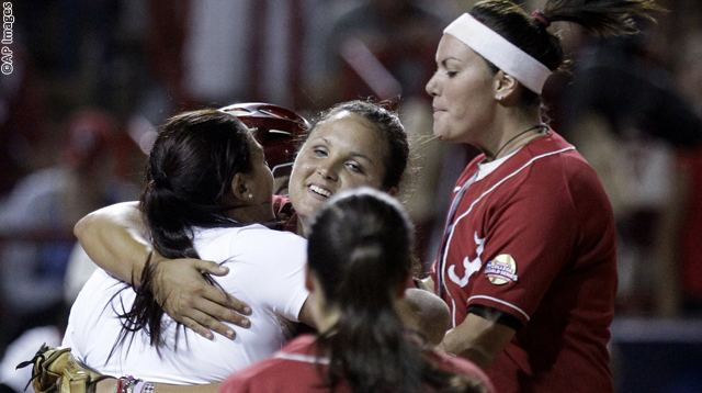 NCAA Alabama Oklahoma Softball