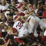 NCAA Oklahoma Alabama Softball