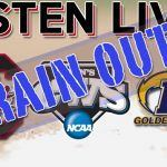 Listen Live South Carolina v Kent State Rain Out