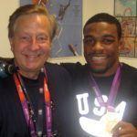 Jordan Burroughs with John Tautges