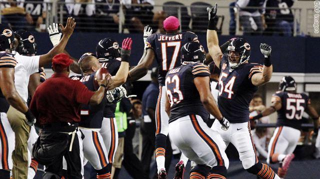 APTOPIX Bears Cowboys Football