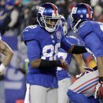 Victor Cruz, Hakeem Nicks