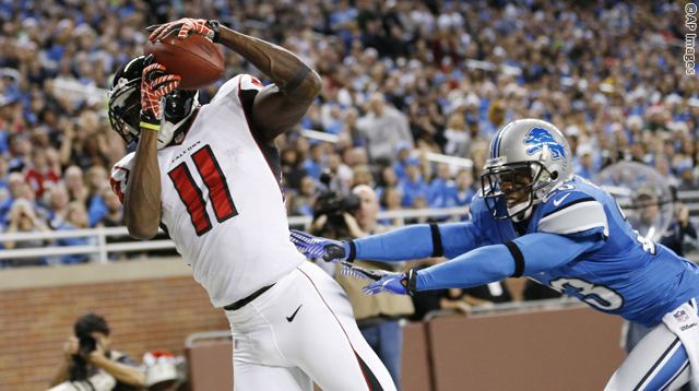Julio Jones, Chris Houston