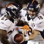 Peyton Manning, Knowshon Moreno