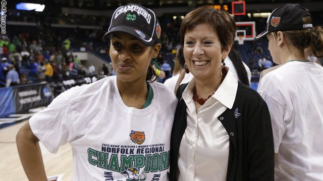 Skylar Diggins, Muffet McGraw