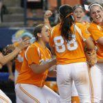 WCWS Tennessee Texas Softball