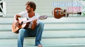 Billy Currington College Football Country