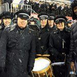 Army band with Lewis