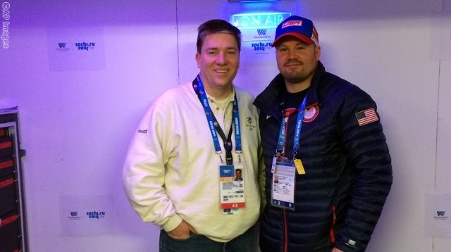 Steve Holcomb with Joe Tolleson