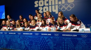 USA Womens Hockey Press Conference