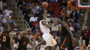 NCAA Mercer Tennessee Basketball