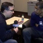 UCONN Kevin Ollie with Ian Eagle