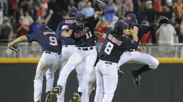 CWS Mississippi TCU Baseball