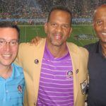 Andre Reed with Scott and James