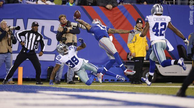 APTOPIX Cowboys Giants Football
