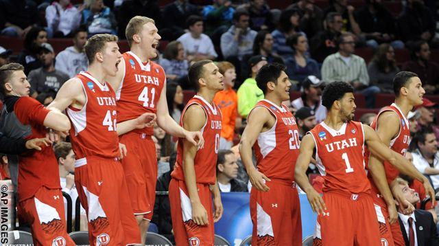 NCAA Utah Georgetown Basketball