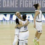 NCAA South Carolina Notre Dame Final Four Basketball