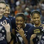 NCAA Notre Dame UConn Final Four Basketball