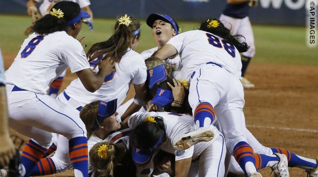 NCAA Michigan Florida Softball