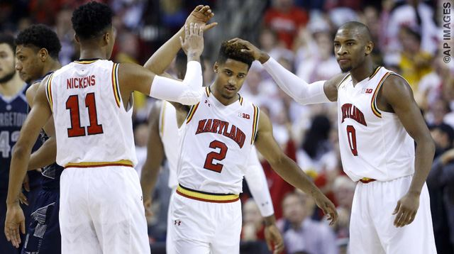 Melo Trimble, Jared Nickens, Rasheed Sulaimon