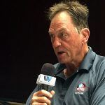 Jack Youngblood during his interview with James Lofton in 2015.