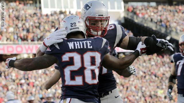 Rob Gronkowski, James White