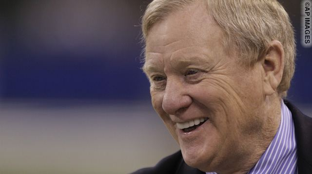 Indianapolis Colts President Bill Polian before an NFL football game between the Indianapolis Colts and the Denver Broncos in Indianapolis, Sunday, Dec. 13, 2009. (AP Photo/AJ Mast)
