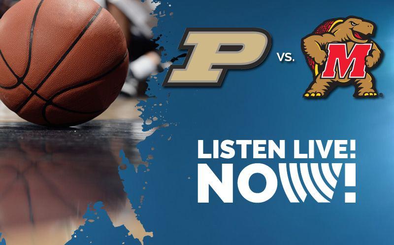 Listen Live - Purdue Maryland