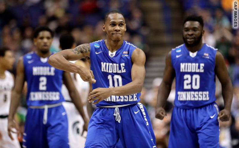 Middle Tennessee State - Michigan State_AP