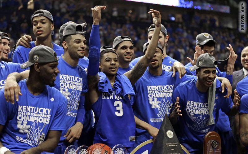 Kentucky Basketball Named Preseason Favorite For Sec Crown: SEC Championship Highlights: Kentucky Wins Second Straight
