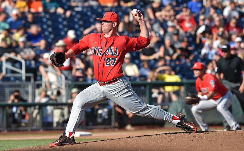 College World Series - Arizona v Coastal Carolina - Game One