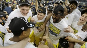 NCAA Michigan Florida Basketball