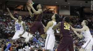 Andre Hollins drives_Minnesota - UCLA_2
