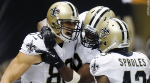 Jimmy Graham, Darren Sproles, Benjamin Watson