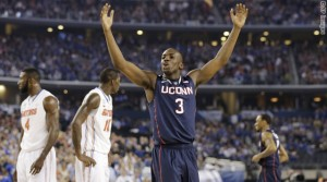 APTOPIX NCAA UConn Florida Final Four Basketball