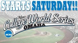 CWS Starts Saturday