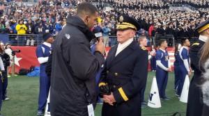 Derek Rackley with Gen. Martin Dempsey