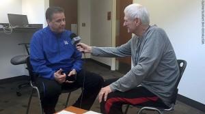 Bill Frieder with John Calipari