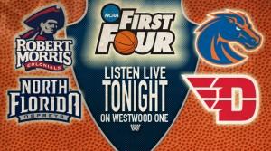 Listen Live Tonight - First Four Weds