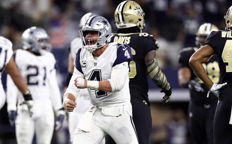 Image result for cowboys saints tnf